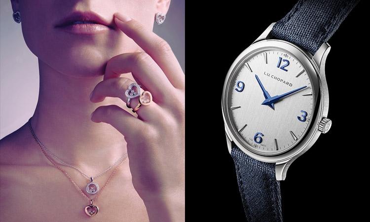 """a47e727af تعود علامة المجوهرات والساعات السويسرية الفاخرة """"شوبارد"""" للاحتفال  بالرومانسية في """"يوم الحب""""، بمجموعة رائعة من إبداعاتها، التي بالتأكيد ستسعد  عشاق إصداراتها ..."""