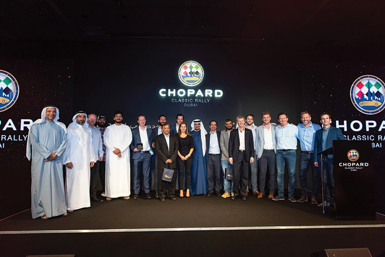 Resounding Success For Second Edition Of Chopard Classic Rally